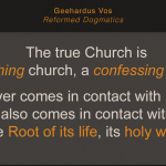 Reformed Dogmatics Volume 5 by Geerhardus Vos – A Book Review