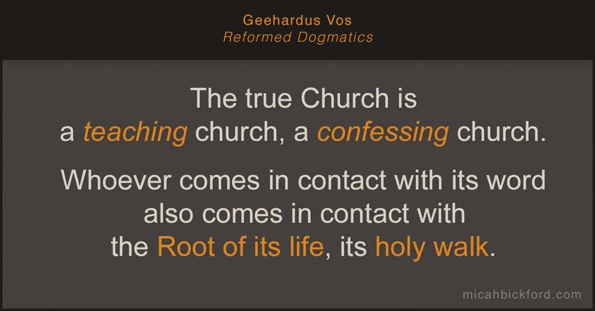 Reformed Dogmatics Volume 5 by Geehardus Vos